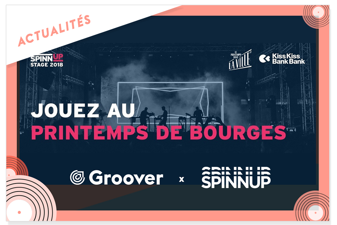 SPINNUP groover printemps de bourges