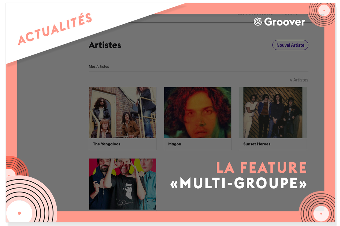 feature multi-groupes sur groover