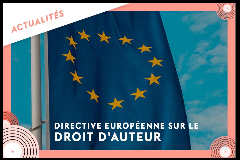Directive européenne et droit d'auteur