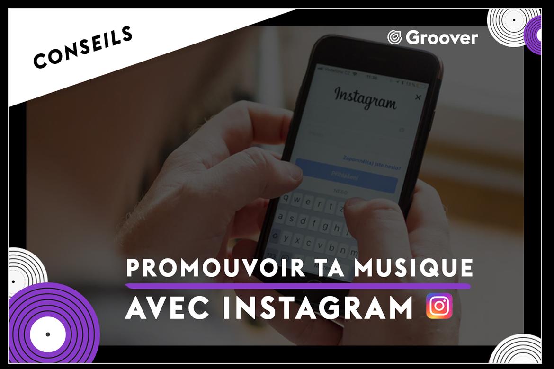 promouvoir sa musique avec instagram