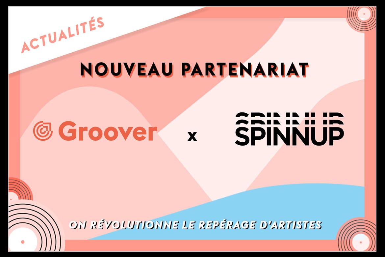 Spinnup en partenariat avec Groover