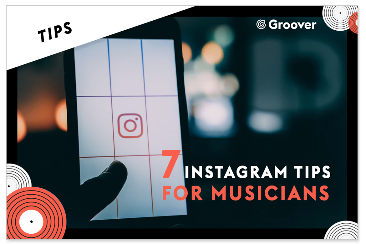 instagram tips for musicians