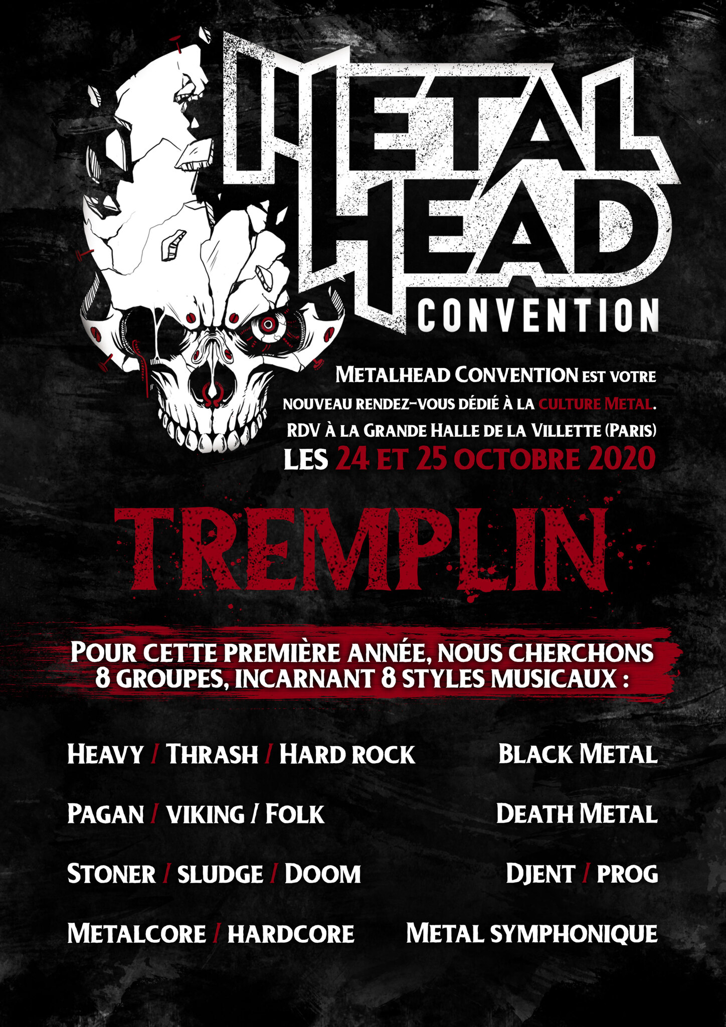 Tremplin Metalhead Convention