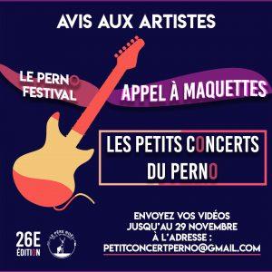 Les Petits Concerts du Perno Festival
