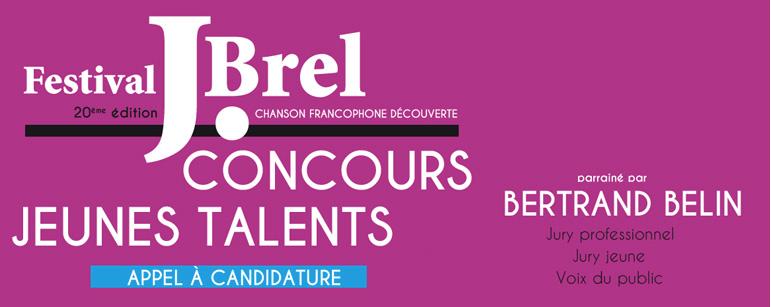 Jeunes Talents du Festival Jacques Brel