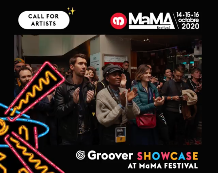 Groover x MaMA Festival 2020 Showcase