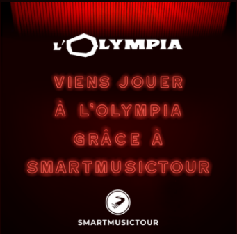 Jouez à l'Olympia ! - Smartmusictour