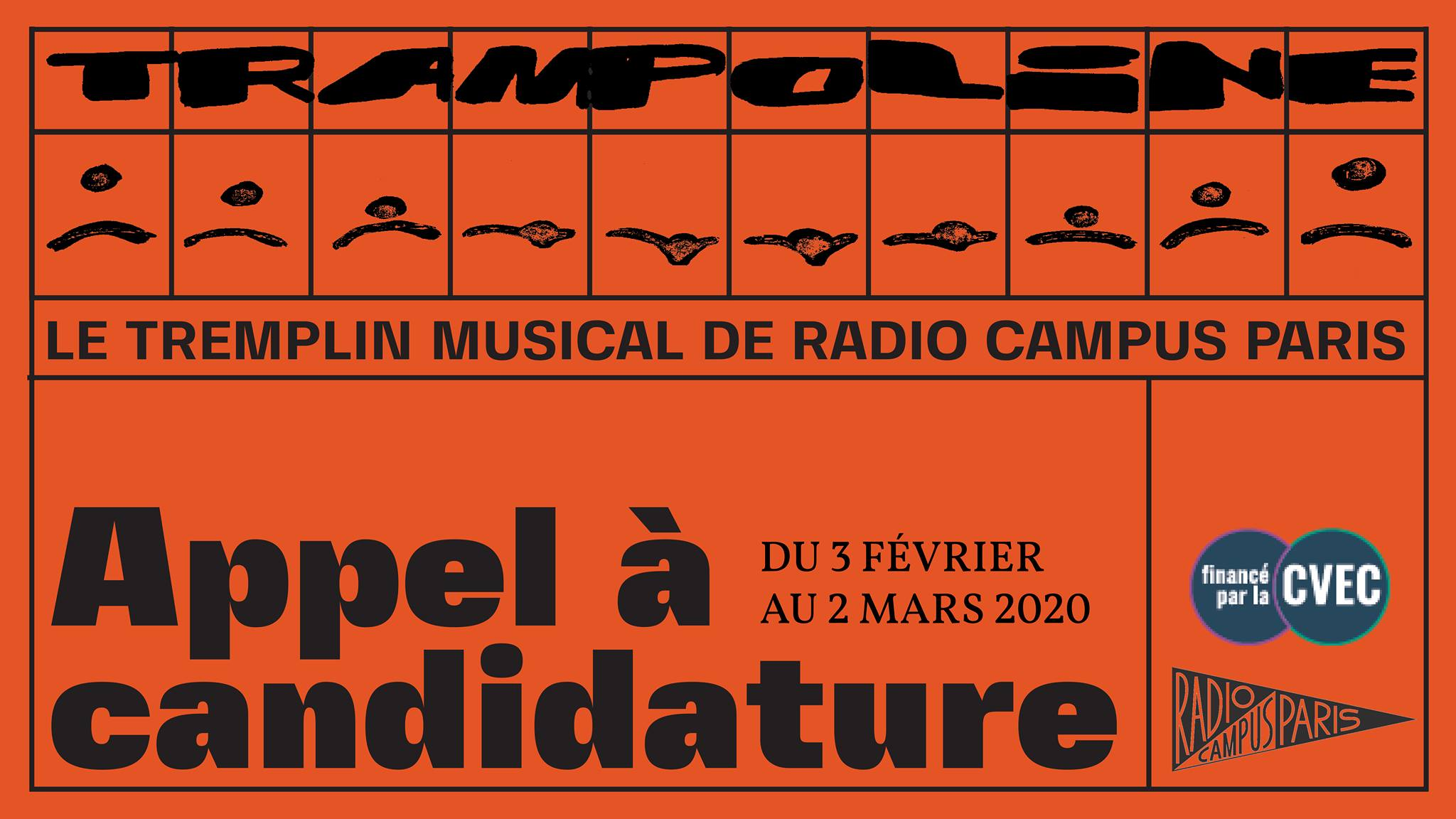 Trampoline – Tremplin Musical de Radio Campus Paris