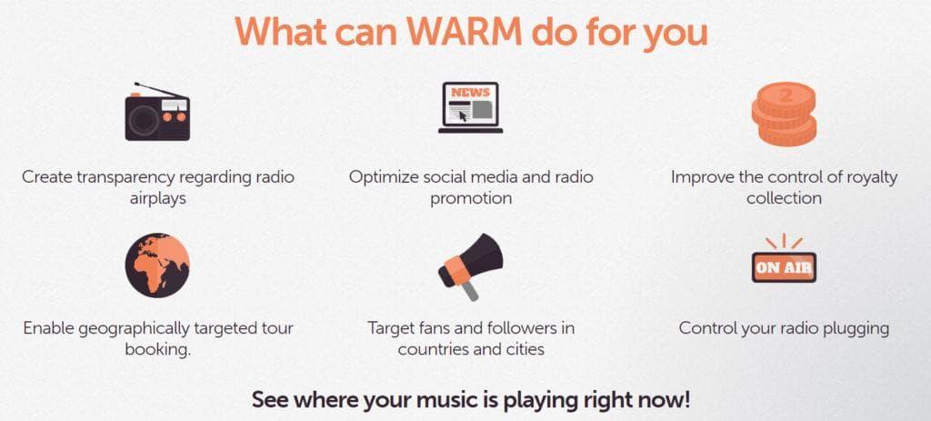 WARM radio