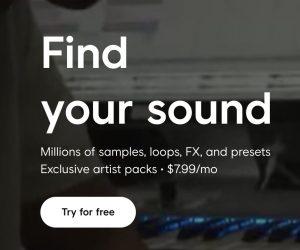 Splice offre l'accès à des millions de samples loops / boucles beats avec abonnement