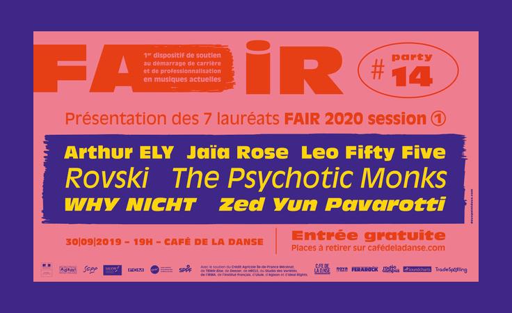Lauréats Le FAIR 2020