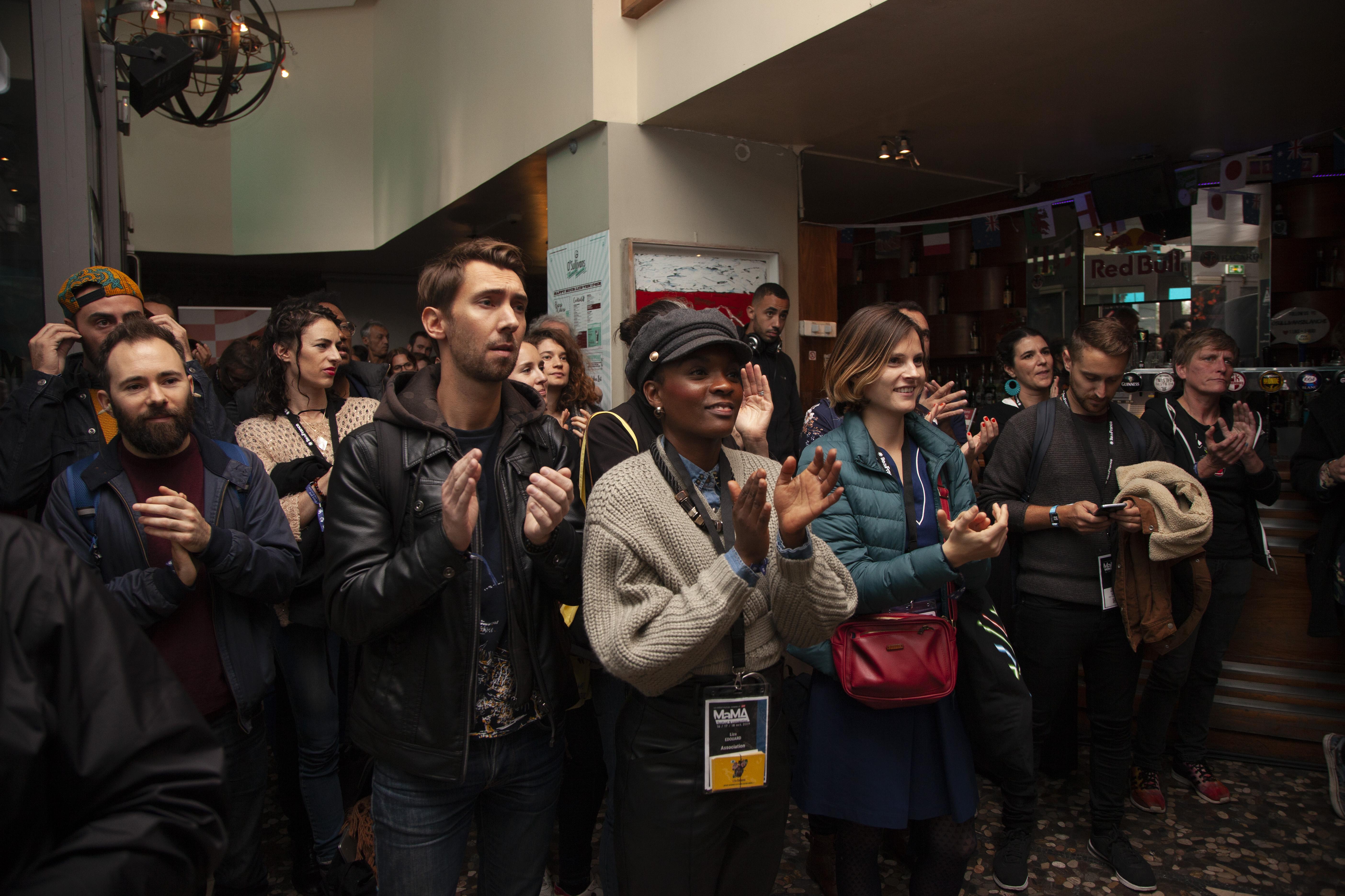 Le public au Groover Showcase