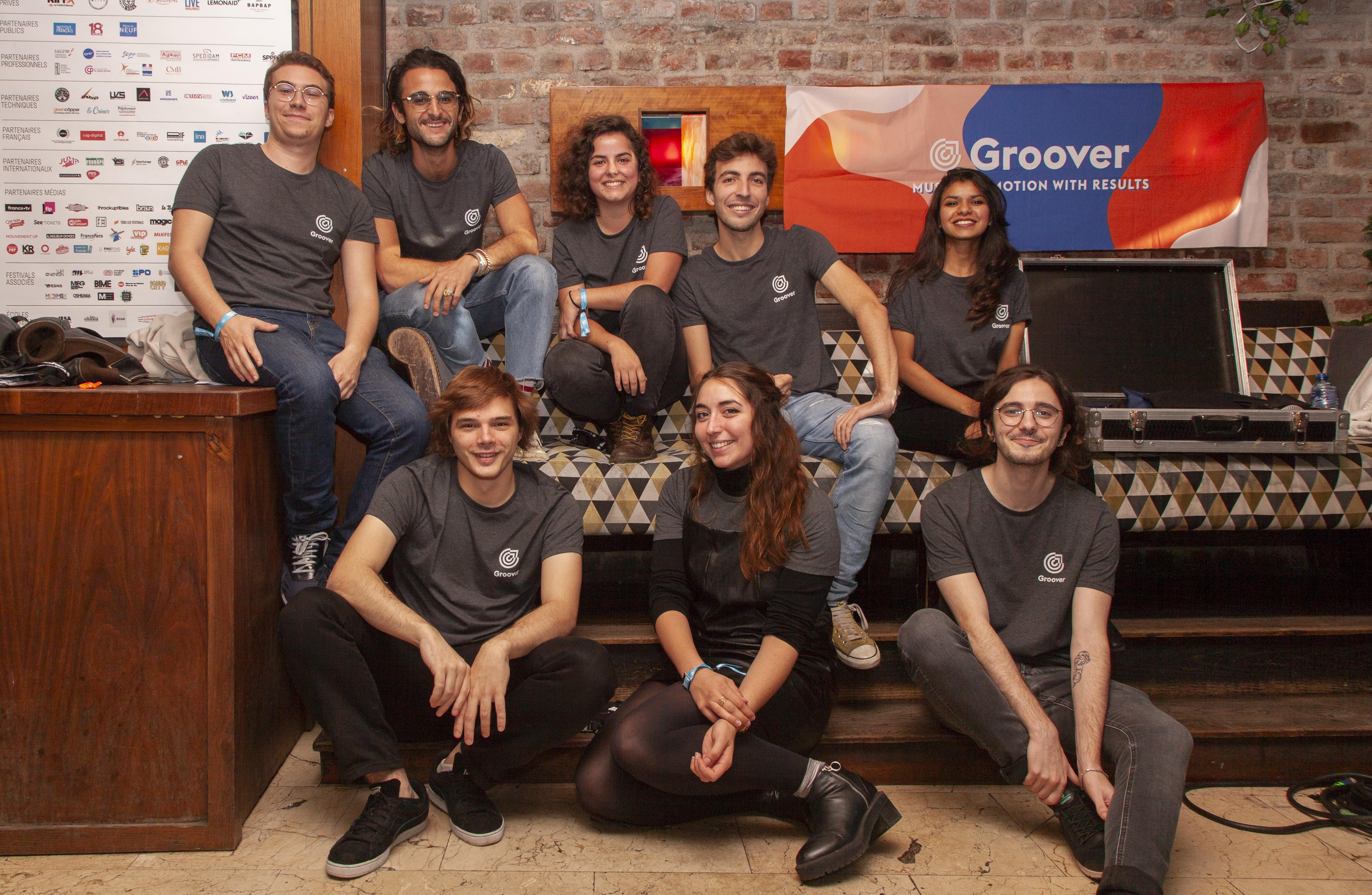 L'équipe Groover au Showcase
