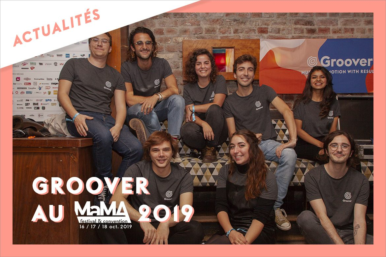 Groover au MaMA 2019