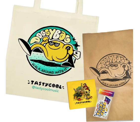 Tastycool - merchandising