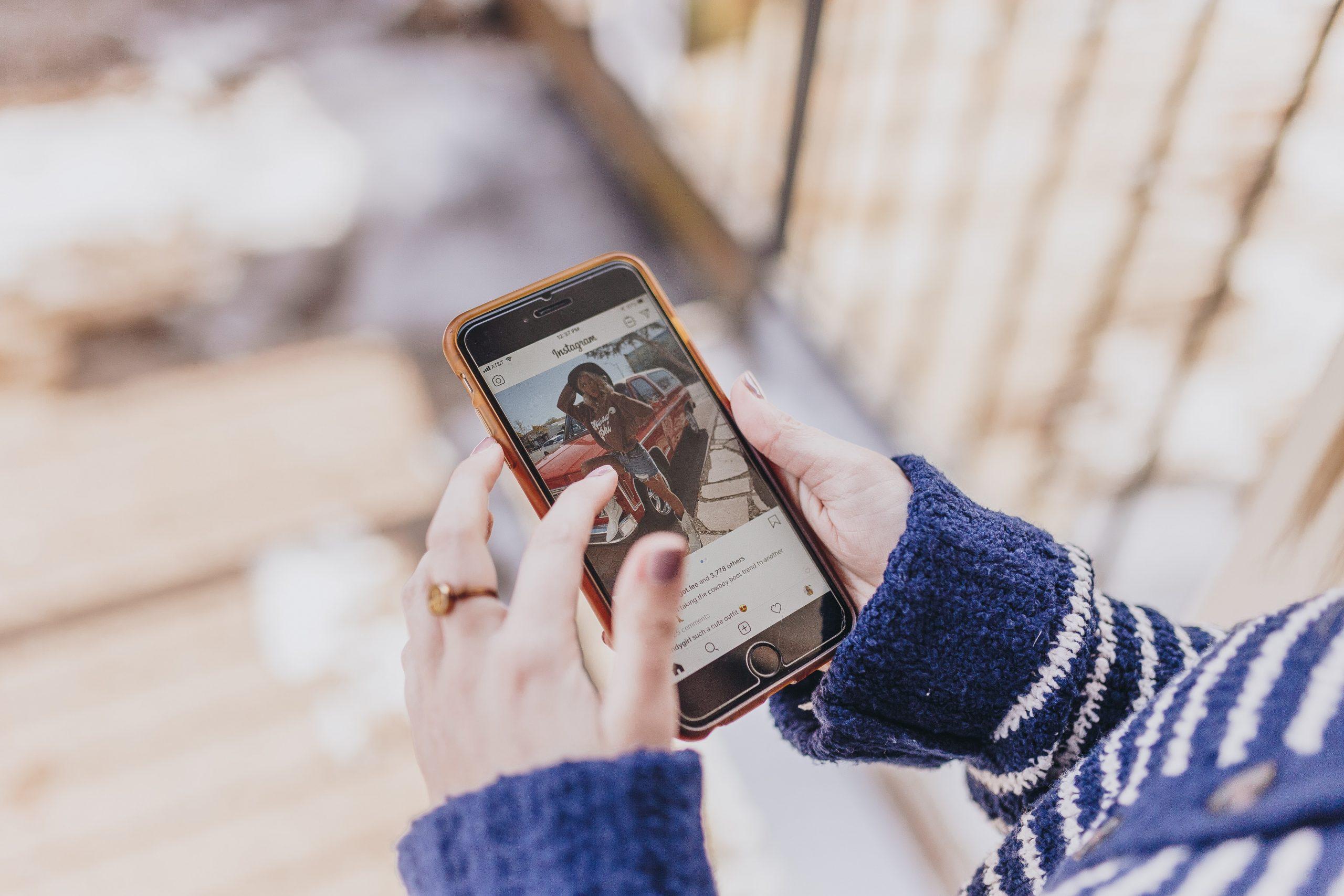 Merchandising - communiquer avec ses fans sur les réseaux sociaux - Instagram
