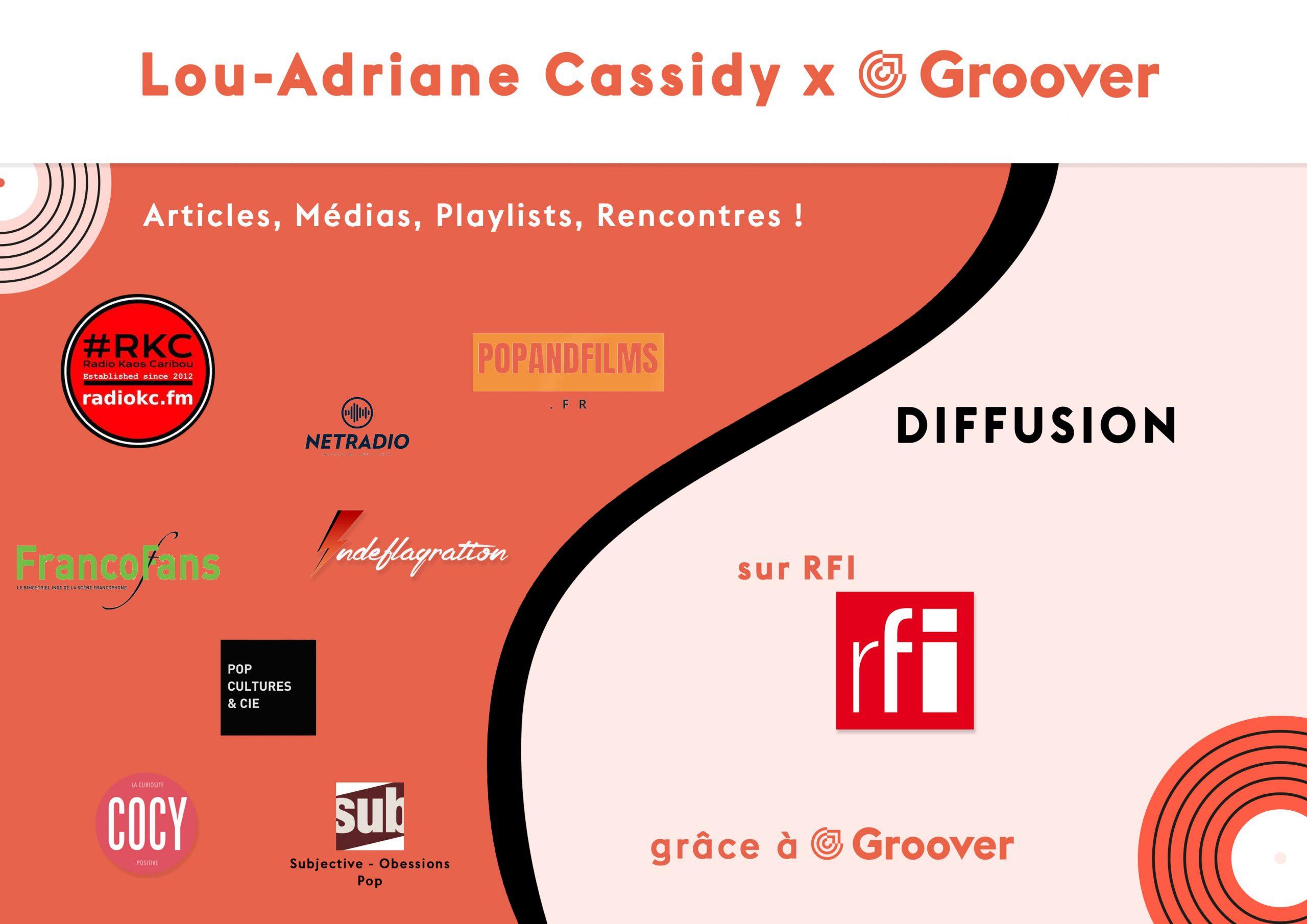Lou-Adriane Cassidy sur RFI