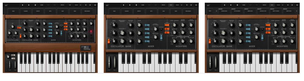 Les meilleures applications pour les musiciens - Minimoog Model D Synthesizer