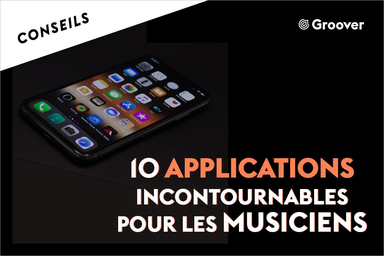 Applications pour les musiciens : le top 10 en 2020 !