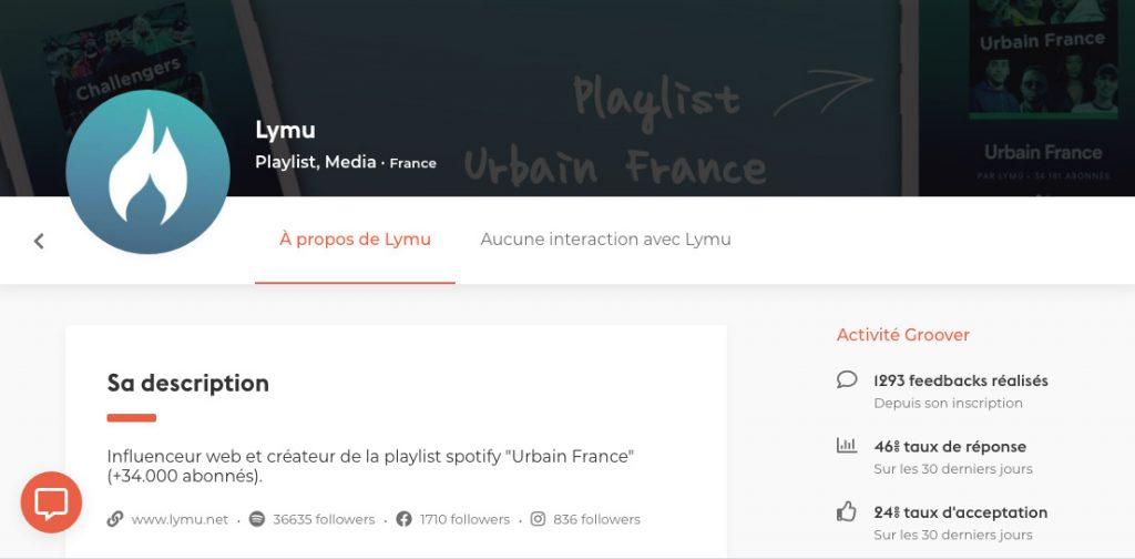 Lymu Playlist Spotify - Groover