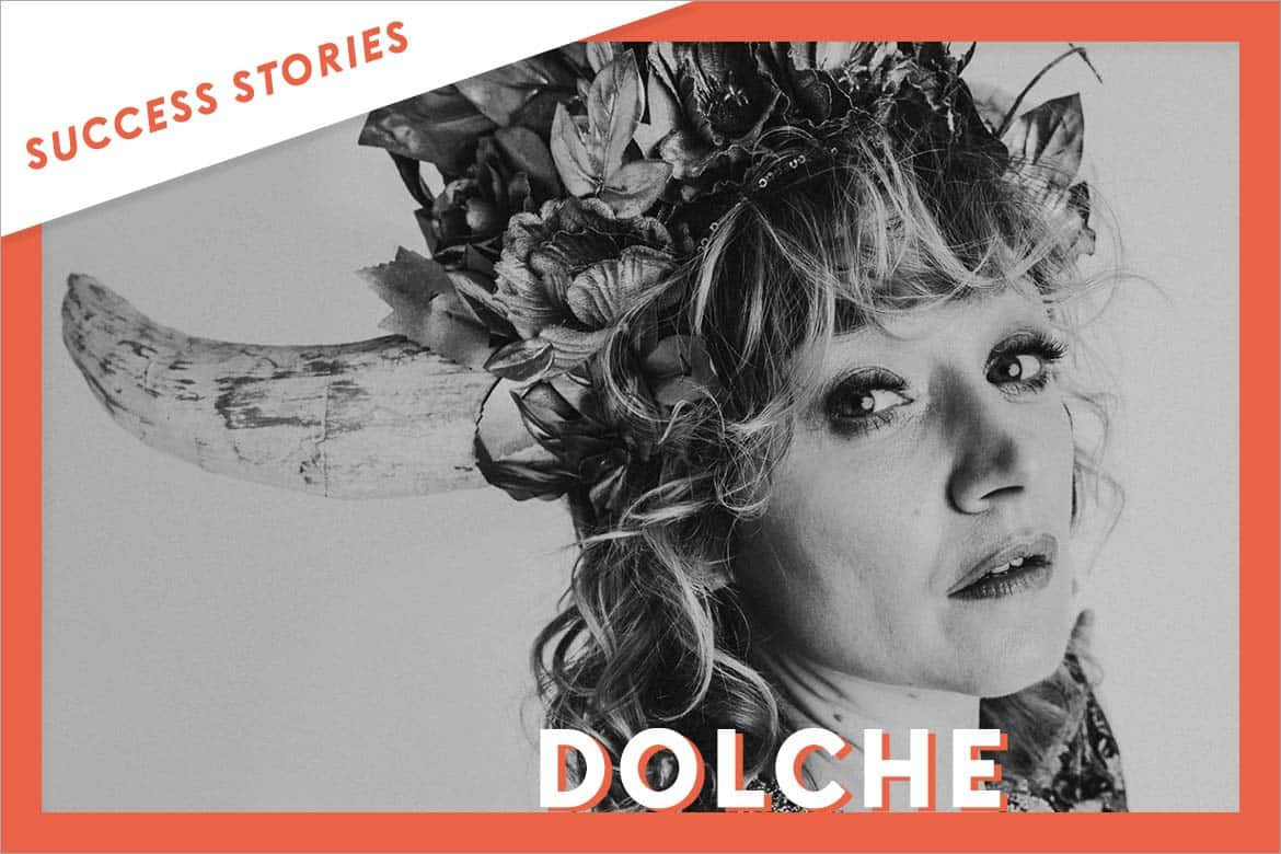 DOLCHE expands her network and gains visibility thanks to Groover