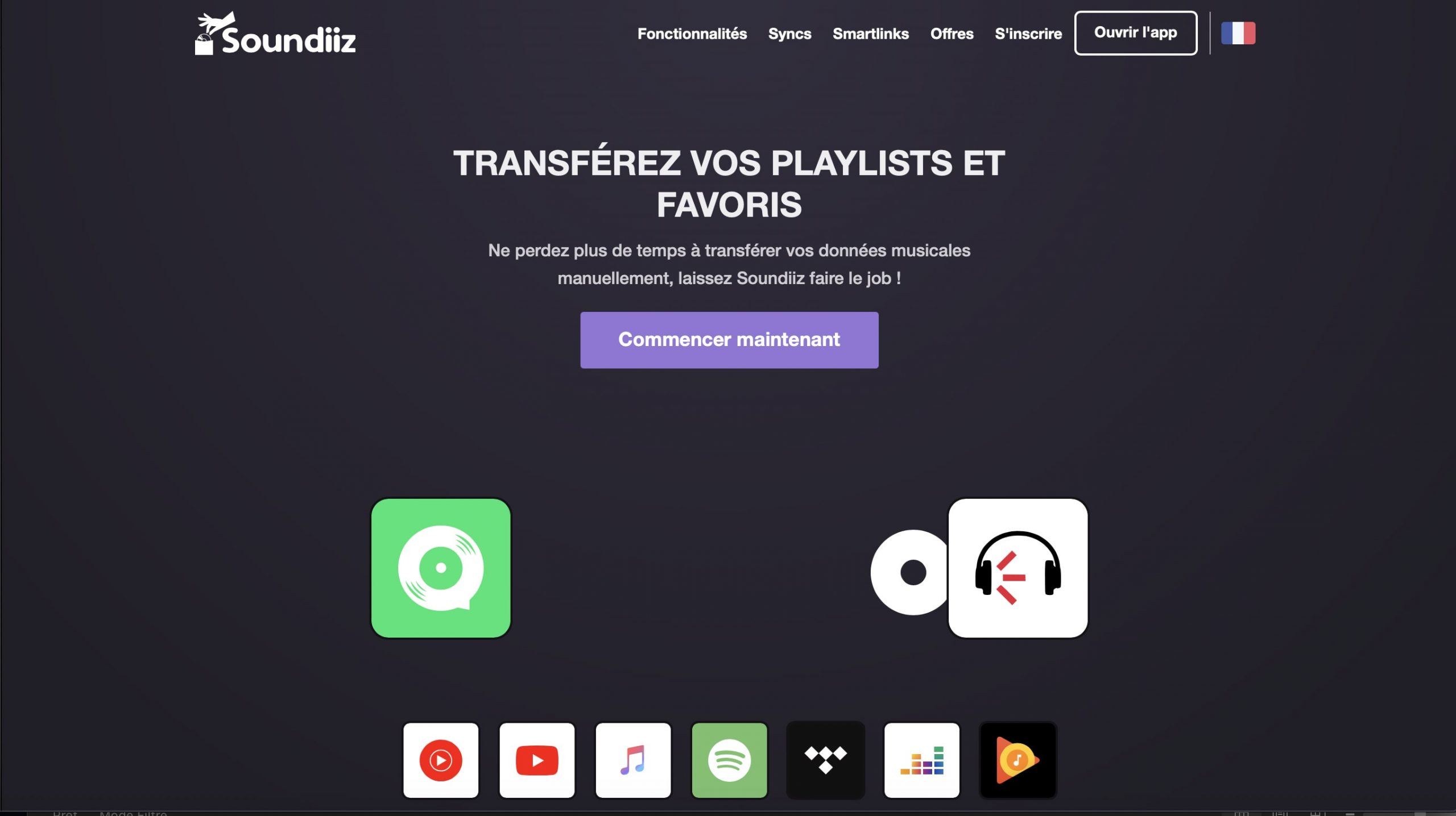 Easily transfer and manage your playlists with Soundiiz