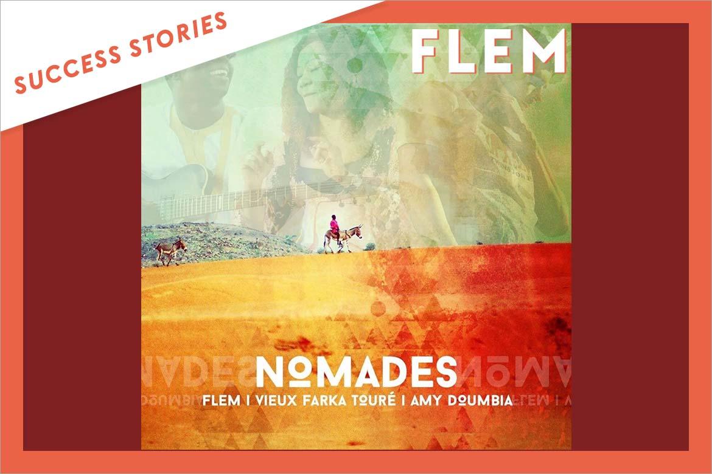 Flem, Vieux Farka Touré et Amy D - Nomades