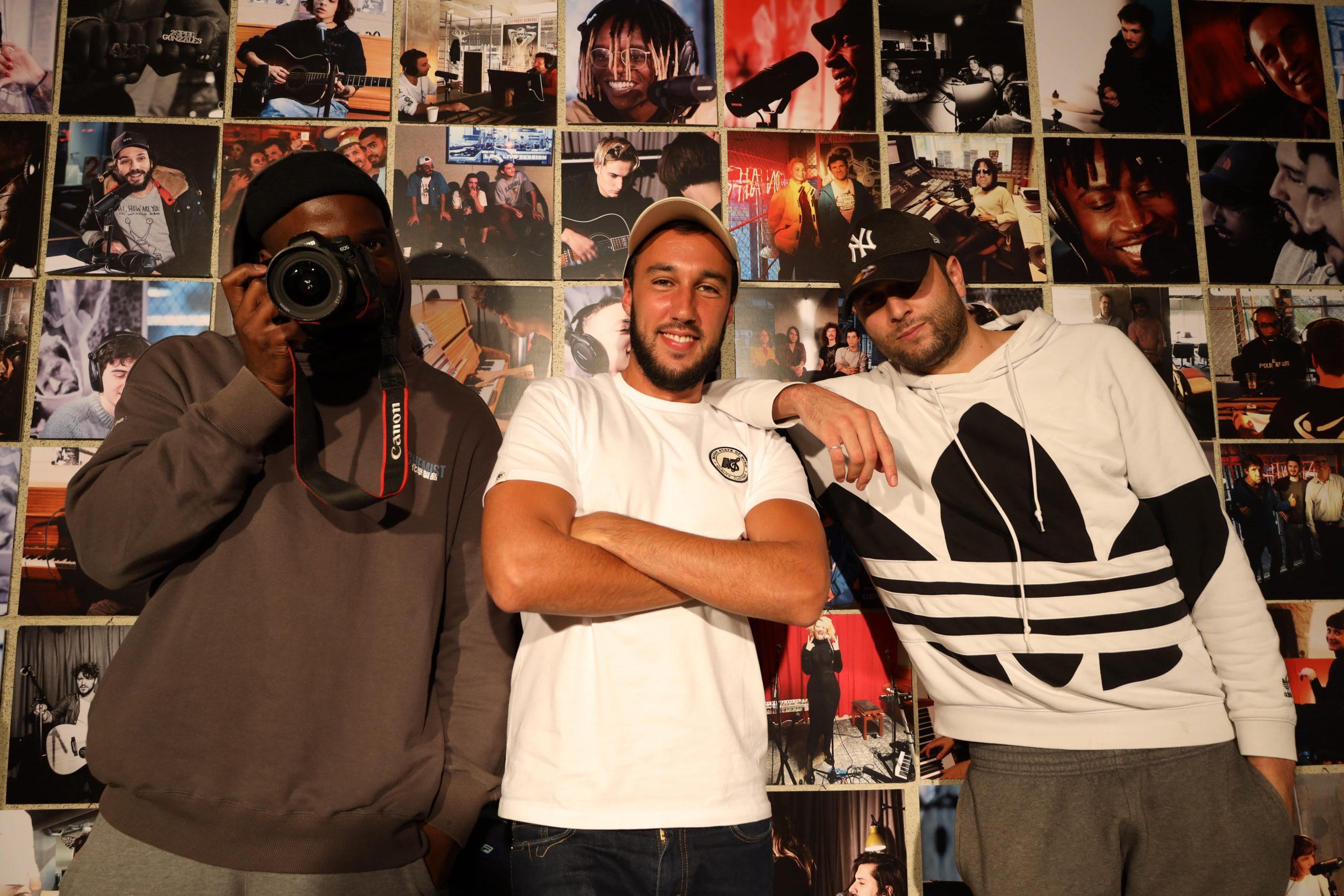 Kidhao, Ismaël Mereghetti et Mohand Baha - Photo @ Deux mecs en short