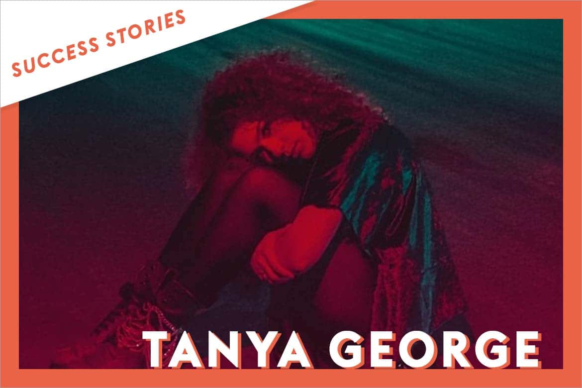 Tanya George gains Visibility after sending her Music on Groover