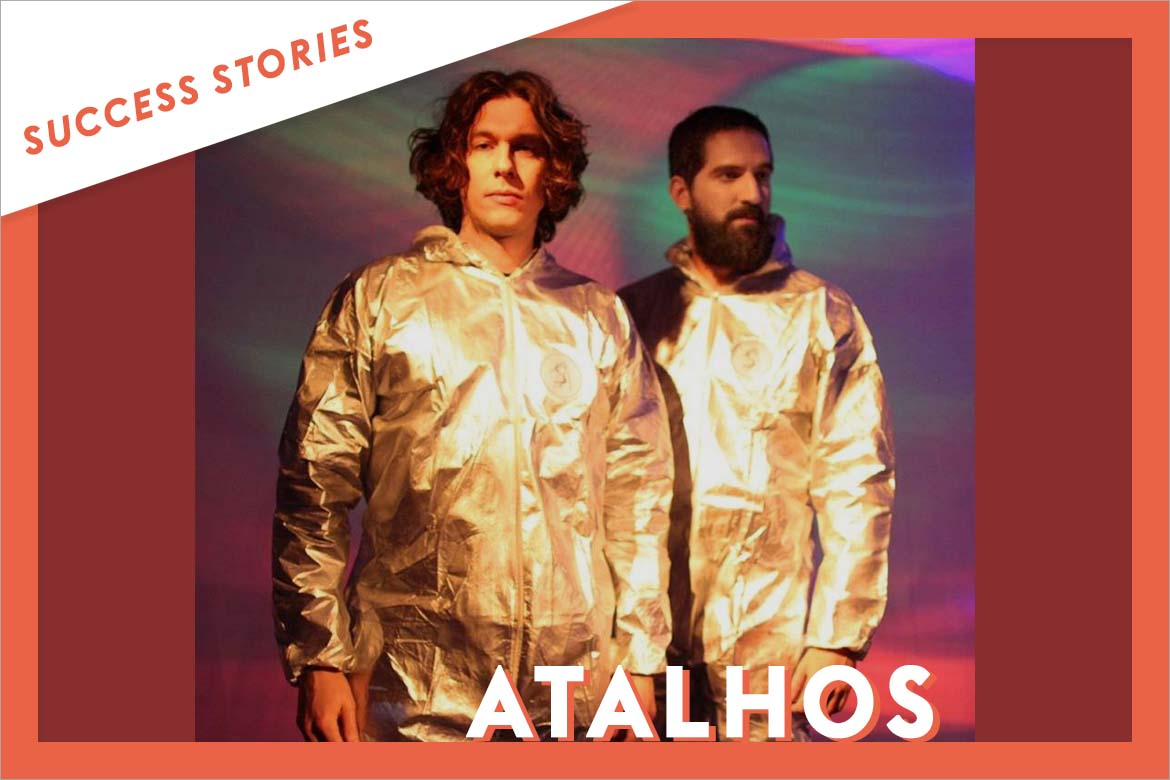 Atalhos, the Brazilian duo, gains visibility thanks to Groover