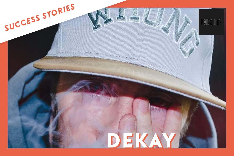 Dekay signe avec le label Dig It! grâce à Groover