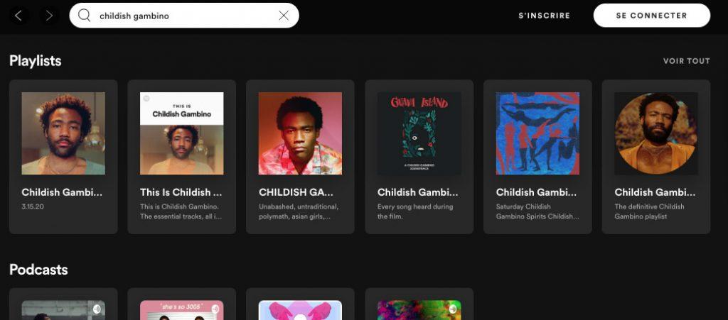 Categoria Playlists