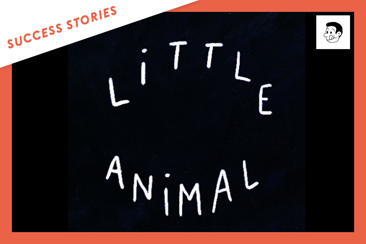 Little Animal signe avec le label Cookie Record grâce à Groover