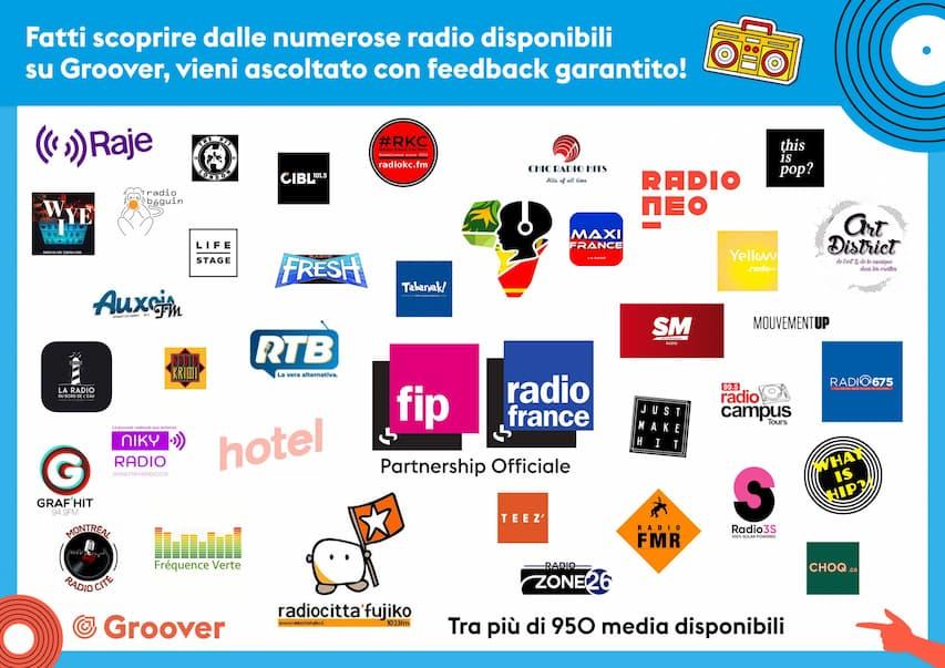 Radio su Groover