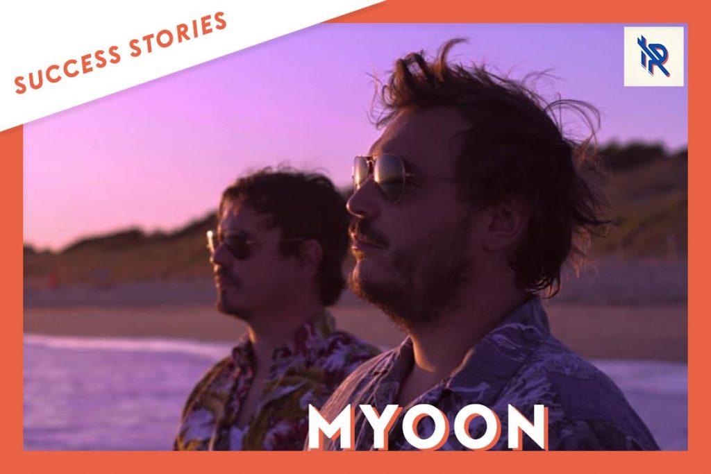 Myoon a signé avec le label Inside Records / Electro Posé après les avoir contactés sur Groover