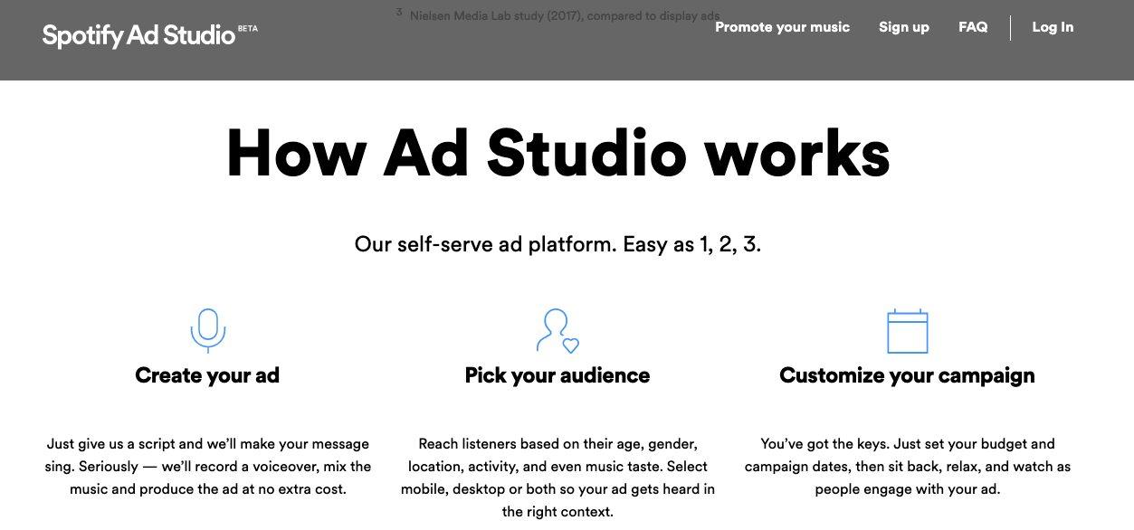 Como o Ad Studio funciona