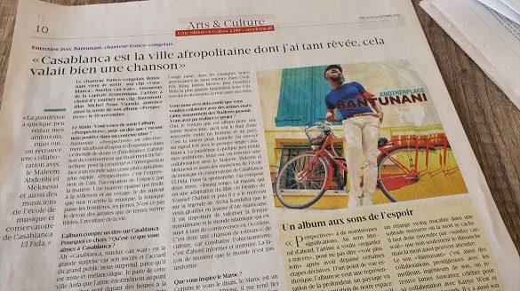 Matéria sobre o álbum Perspectives no jornal suiço Le Matin