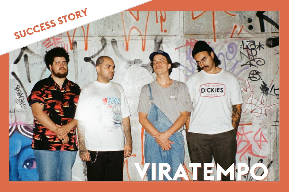 Viratempo promotes their project thanks to Groover