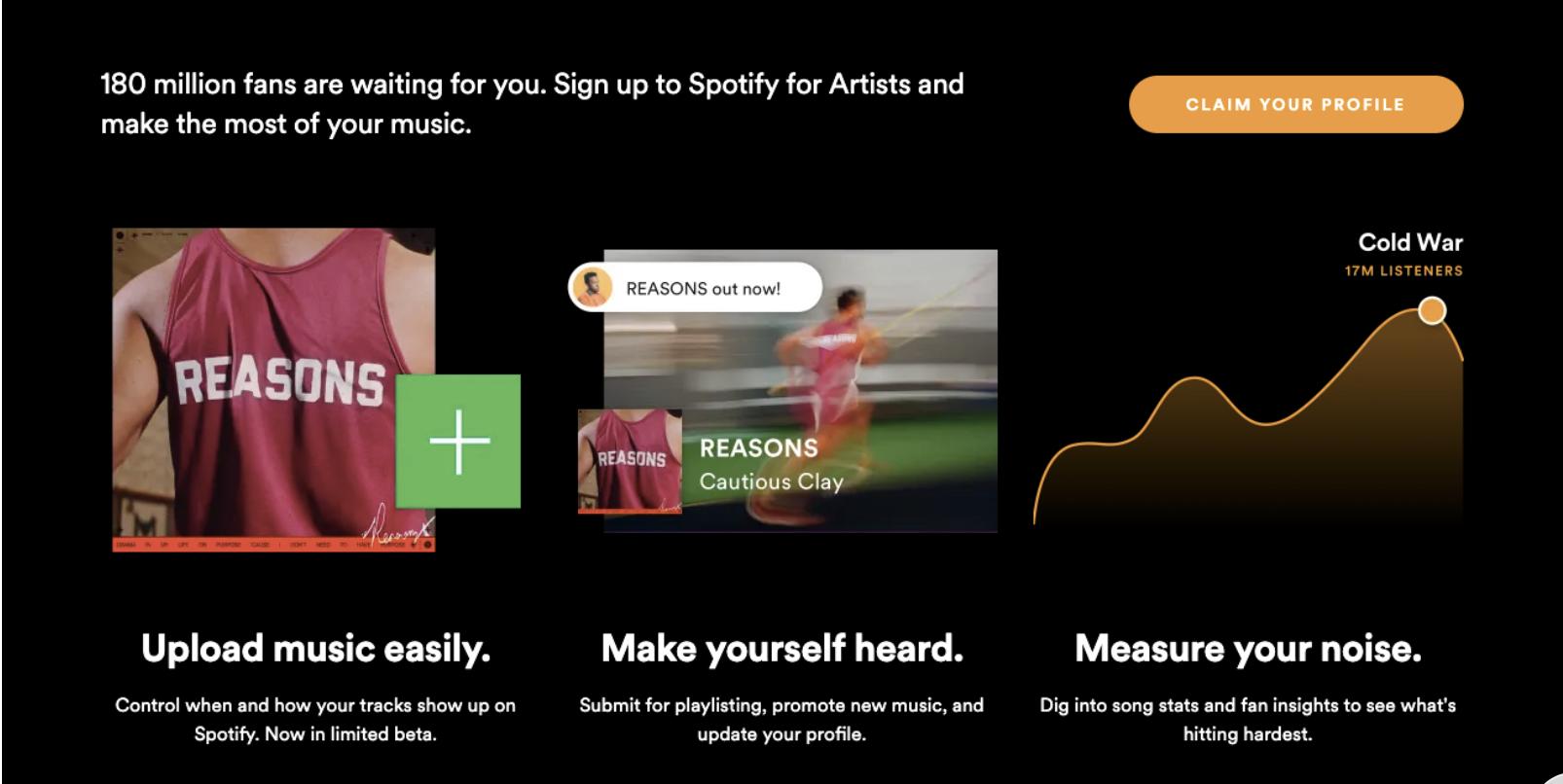 Utiliza Spotify for Artists para analizar tus reproducciones
