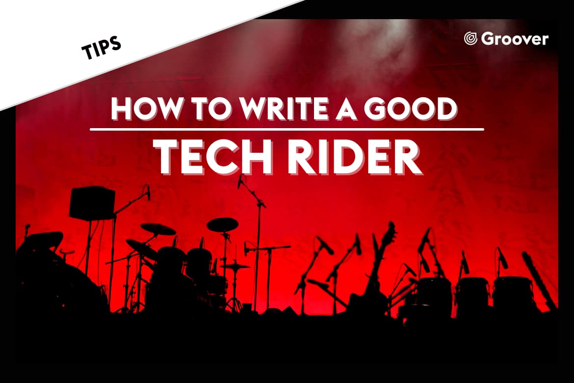 Tech Rider: How to write a good tech rider for live shows