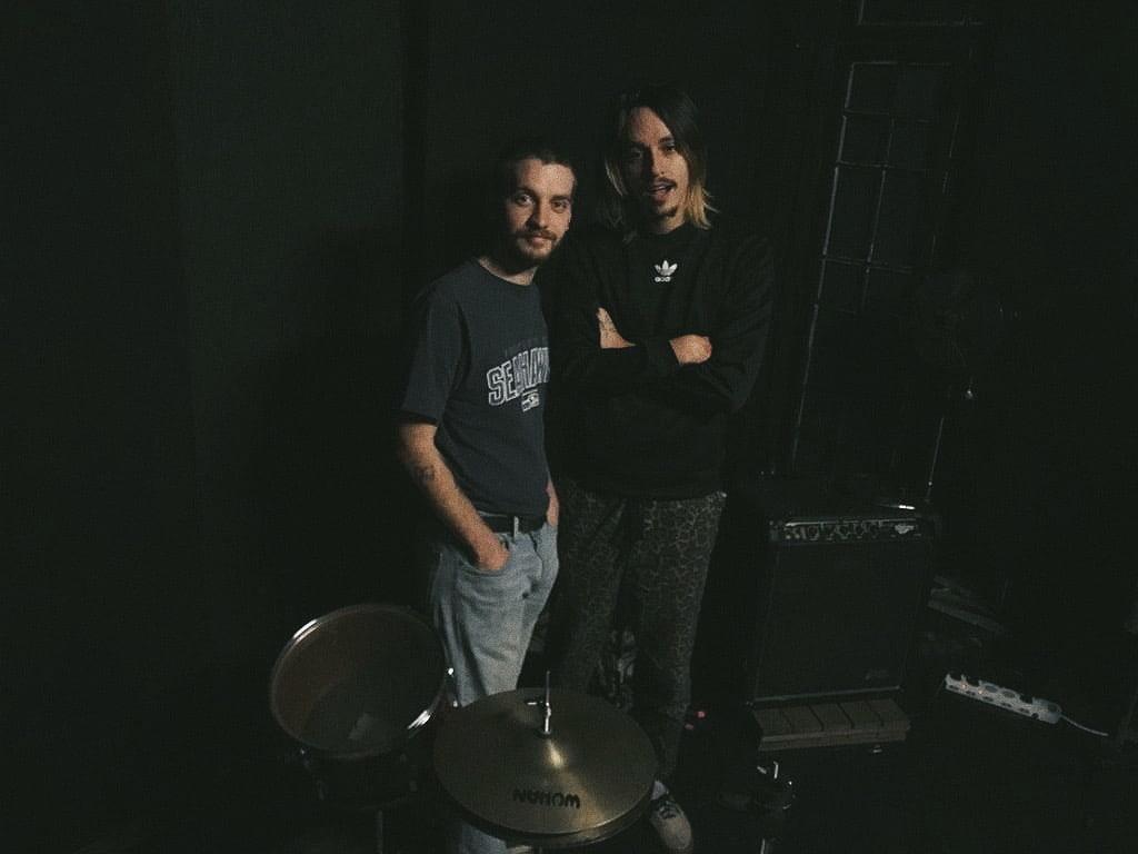 Danilo Sansão e Otto Dardenne membros do selo Seloki Records (foto: Leonardo Yugo)