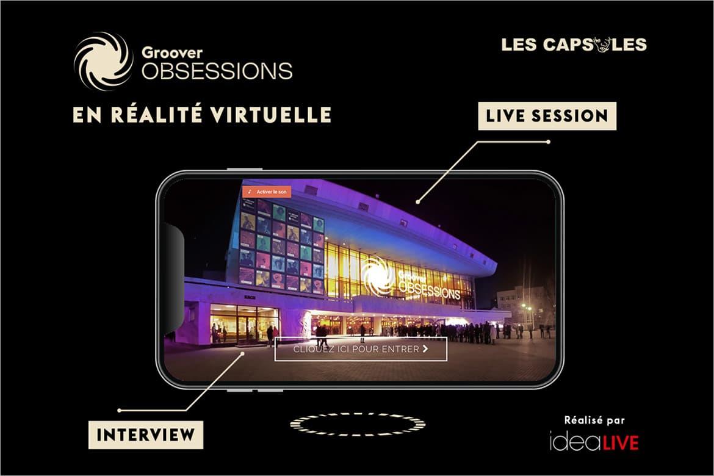Découvrez les capsules Groover Obsessions en réalité virtuelle