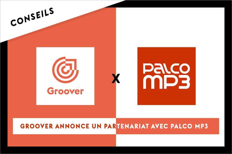 Groover annonce un partenariat avec Palco MP3
