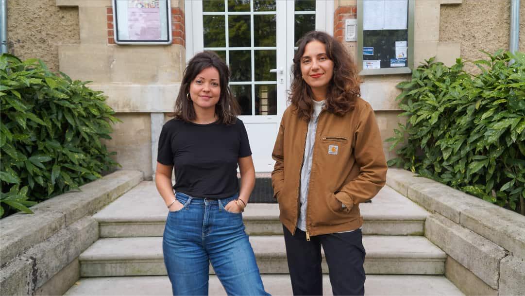 Valentine et Imane - rencontre avec le Château Éphémère - fabrique sonore et numérique