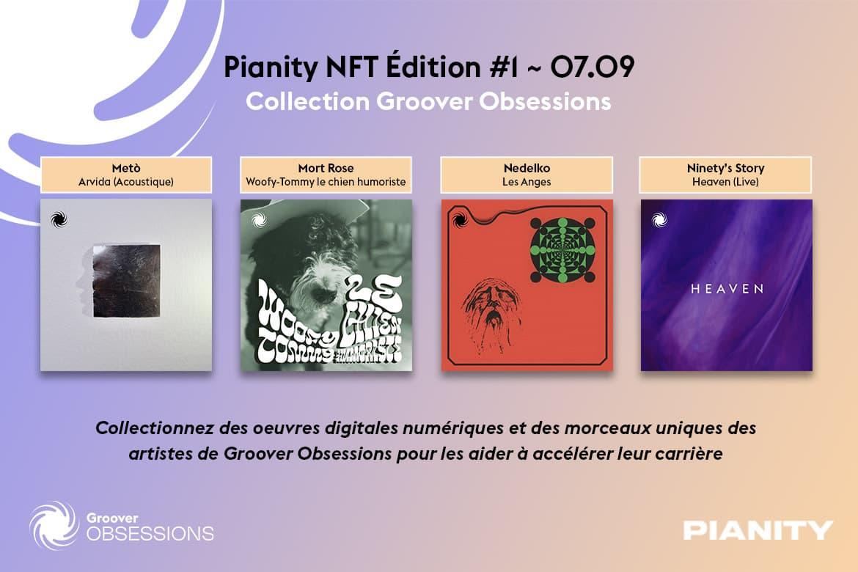 Pianity et Groover s'allient pour développer les NFT musicaux