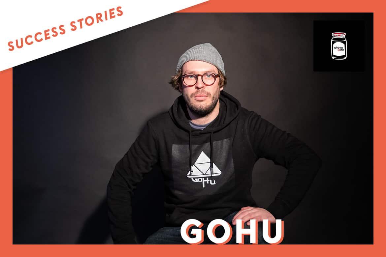 Gohu signe avec le label Shinobee, grâce à Groover
