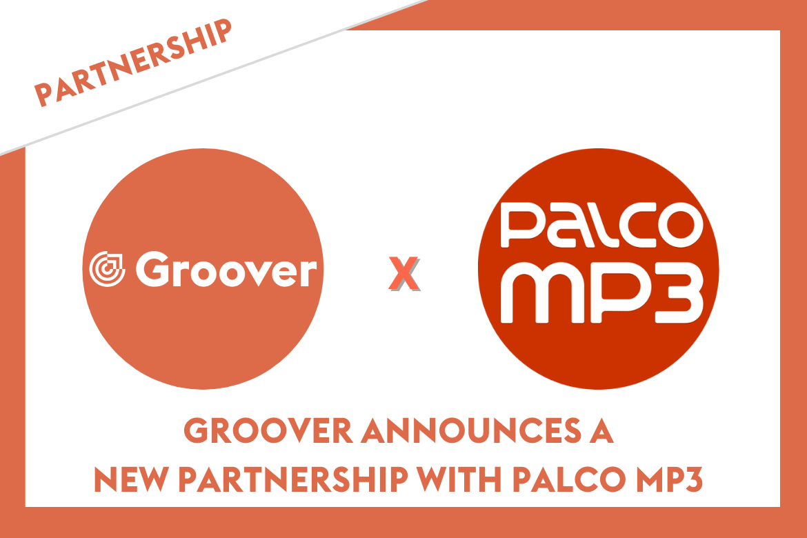 Groover announces a new partnership with Palco MP3