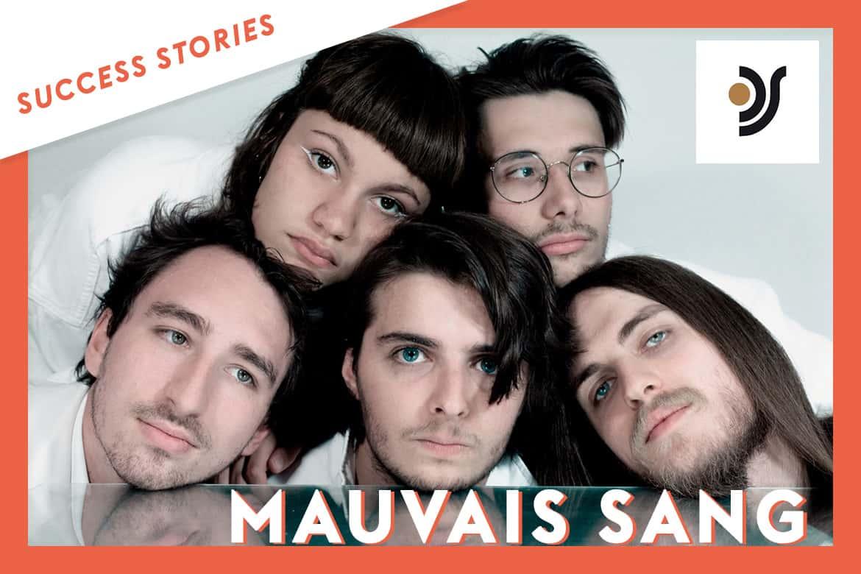 Mauvais Sang signe avec le label December Square, après une première prise de contact sur Groover