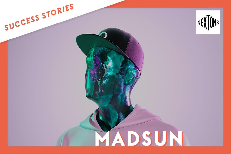 MADSUN signe avec l'agence de management NEXTONE, grâce à Groover